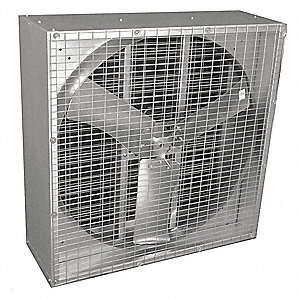 115/230V Assembled Direct Drive Agricultural Exhaust Fan, 1/2HP