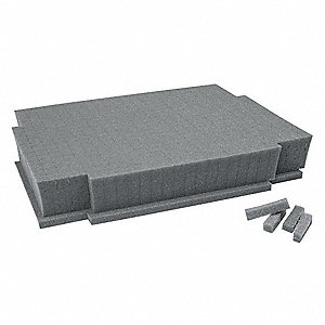 Foam Insert,2-1/2in.L x 11-1/4in.H