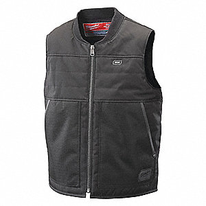 VEST HEATED M12 BLACK 3X BARE