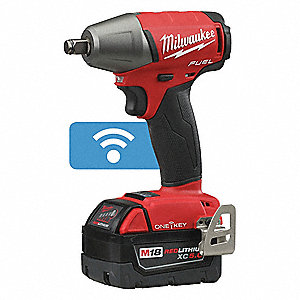 1 2 Cordless Impact >> 1 2 Cordless Impact Wrench Kit 18 0 Voltage 220 Ft Lb Max Torque Battery Included