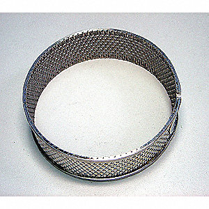 Ring Sieve,Reinforced Trap Hole,1mm,SS