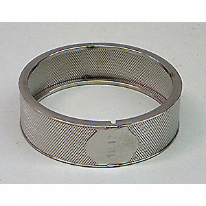 0.12mm Stainless Steel Ring Sieve; For Use With Mfr. No. ZM200