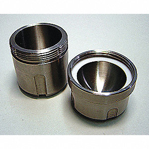 35mL Stainless Steel Grinding Jar; For Use With Mfr. No. MM400