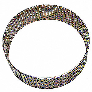 3mm Stainless Steel Ring Sieve; For Use With Mfr. No. ZM200