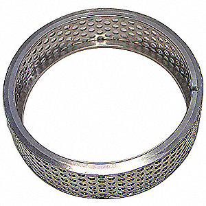 4mm Stainless Steel Ring Sieve; For Use With Mfr. No. ZM200