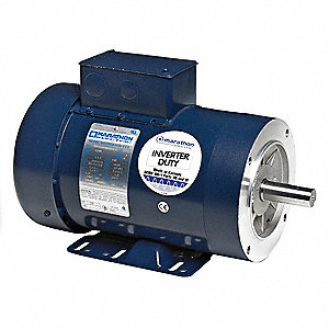 3 HP General Purpose Motor,3-Phase,1170 Nameplate RPM,Voltage 230/460,Frame 213TC