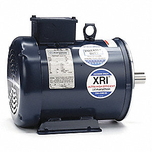 3 HP General Purpose Motor,3-Phase,3510 Nameplate RPM,Voltage 230/460,Frame 182TC