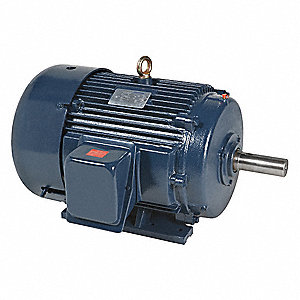 25 HP General Purpose Motor,3-Phase,1780 Nameplate RPM,Voltage 230/460,Frame 284T