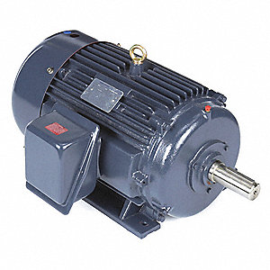30 HP General Purpose Motor,3-Phase,1780 Nameplate RPM,Voltage 230/460,Frame 286T