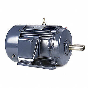 25 HP General Purpose Motor,3-Phase,1190 Nameplate RPM,Voltage 230/460,Frame 324T