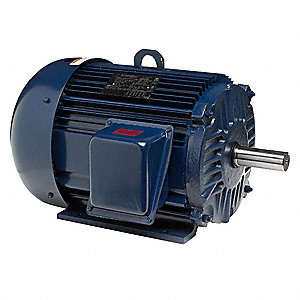 5 HP General Purpose Motor,3-Phase,3495 Nameplate RPM,Voltage 208-230/460,Frame 184T