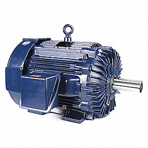 150 HP General Purpose Motor,3-Phase,1785 Nameplate RPM,Voltage 460,Frame 445T