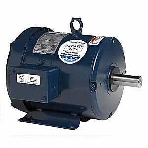 5 HP General Purpose Motor,3-Phase,3475 Nameplate RPM,Voltage 575,Frame 184T