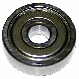 Radial Ball Bearing, Double Shielded, 100mm Bore Dia., 215mm Outside Dia.