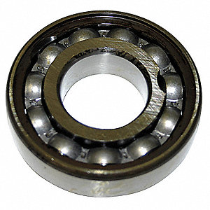 Radial Ball Bearing, Open, 85mm Bore Dia., 180mm Outside Dia.