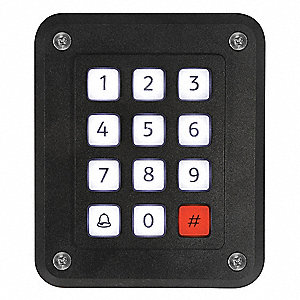 Illuminated Access Control Keypad,UL294