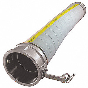10 ft. Coupled Assembly Food Hose, 4""