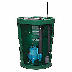 Sewage System,1/2HP,4inx2in,9.5A,1750rpm