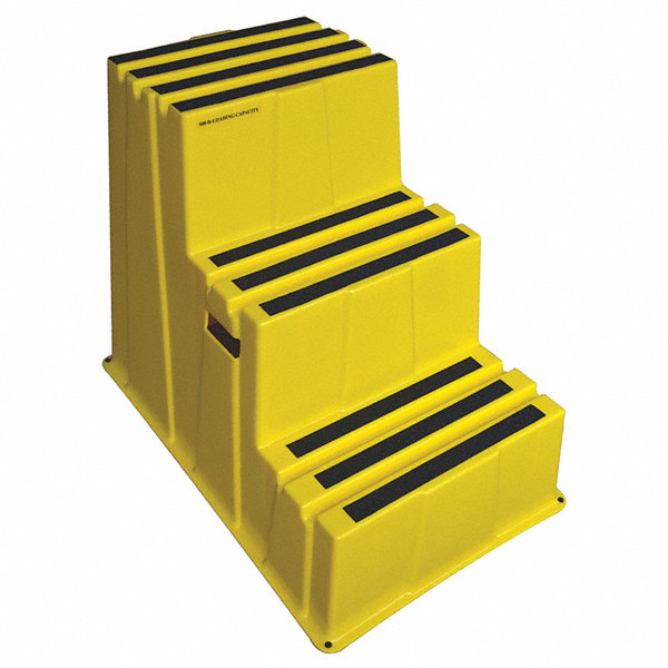 Grainger Approved Plastic Box Step 28 3 4 Quot Overall Height