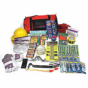 Emergency Site Safety Bag,50 People Srvd