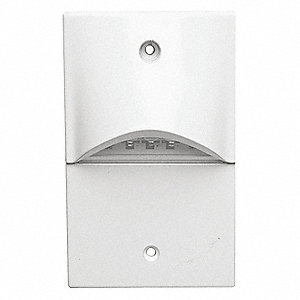 LED Steplight, White Housing, White Light
