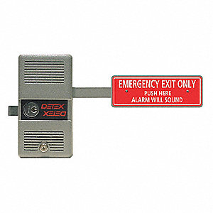 Rim Exit Device with Alarm,ECL-230,9V
