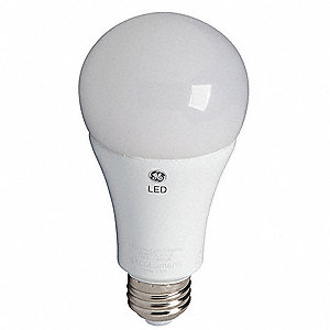 7.0 Watts LED Lamp, A19, Medium Screw (E26), 470 Lumens, 3000K Bulb Color Temp.