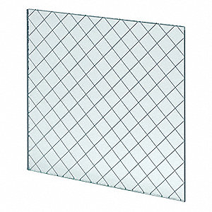 Fire Rated Wired Glass,5inx26in
