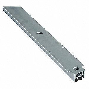 Door Bottom,1/2In.,Aluminum