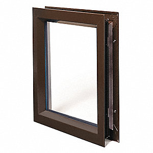 Lite Kit with Glass, 24inx30in, Drk Bronze