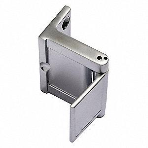 Security Door GuardSatin Chrome  sc 1 st  Grainger & NATIONAL GUARD Security Door GuardSatin Chrome - 44ZZ99|SDG-26D ...