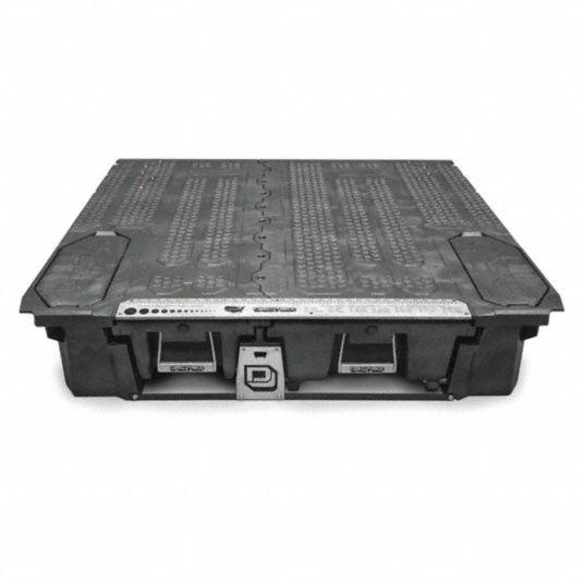 Underbody Truck Box,  Steel,  Black,  No Lid,  7.2 cu ft