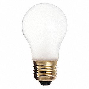 Satco 60 Watts Incandescent Lamp A15 Medium E26 570 Lumens 2700k Bulb Color Temp 1 Ea 451f93 S3871 Grainger