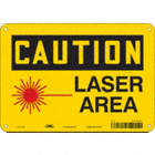 Caution: Laser Area Signs