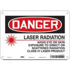 Danger: Laser Radiation Avoid Eye Or Skin Exposure To Direct Or Scattered Radiation Class Iv Laser Product Signs