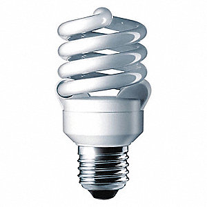 13.0 Watts  Screw-In CFL, Twist, Medium Screw (E26), 810 Lumens 6500K Bulb Color Temp.