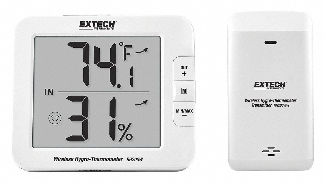 Extech RH200W-T Wireless Hygro-Thermometer Transmitter for RH200W