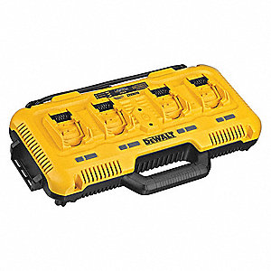FLEXVOLT™ Battery Charger, Li-Ion, Charger Output Voltage: 20.0, Number of Ports: 4