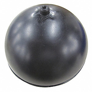 "Float Ball, 44.92 oz., 6"" dia., Plastic"