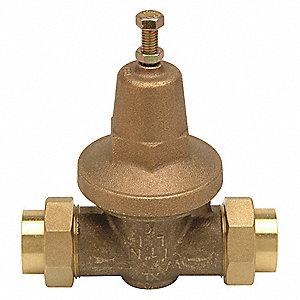 Water Pressure Reducing Valves - Pressure and Temperature