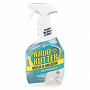 Krud Kutter Mildew And Mold Remover 32 Oz Trigger Spray Bottle Fl Liquid 1 Ea 453v30 305471 Grainger