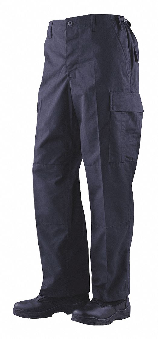BDU Trouser. Size: M, Fits Waist Size: 32 in to 34 in, Inseam: Regular, Navy