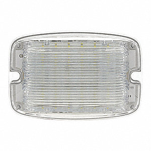 Work Light, Rectangular, LED, 1.0A, 12VDC