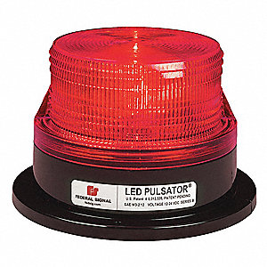 Beacon Light,Red,Permanent,LED,PC