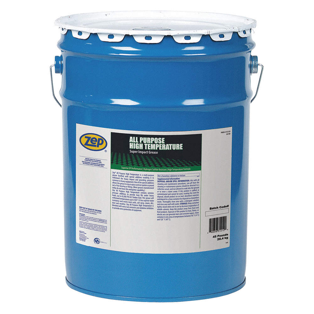 Green Clay High Temperature Grease, 45 lb , NLGI Grade: 2 5