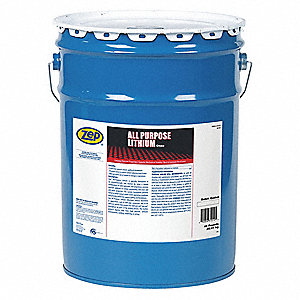 Amber Lithium High Temperature Grease, 45 lb., NLGI Grade: 2