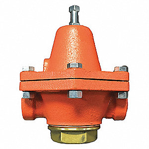 "B Series 5-1/8""L Cast Iron Pressure Regulator, 50 to 110 psi"
