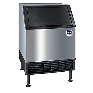 "Undercounter Ice Maker, Ice Production per Day: 132 lb., 26"" W X 38-1/2"" H  X28"" D"