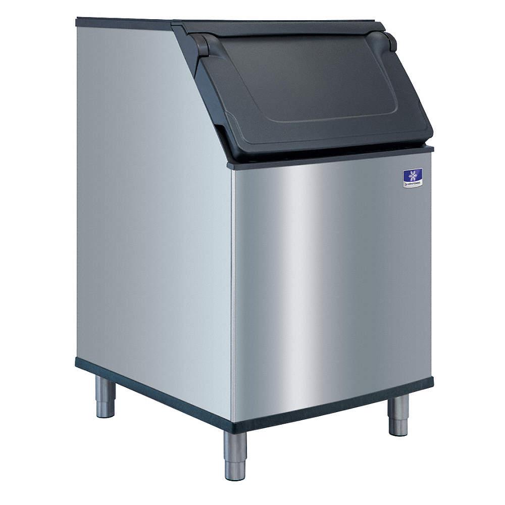 MANITOWOC Commercial Stationary Ice Storage Bin, 532 lb. Storage ...