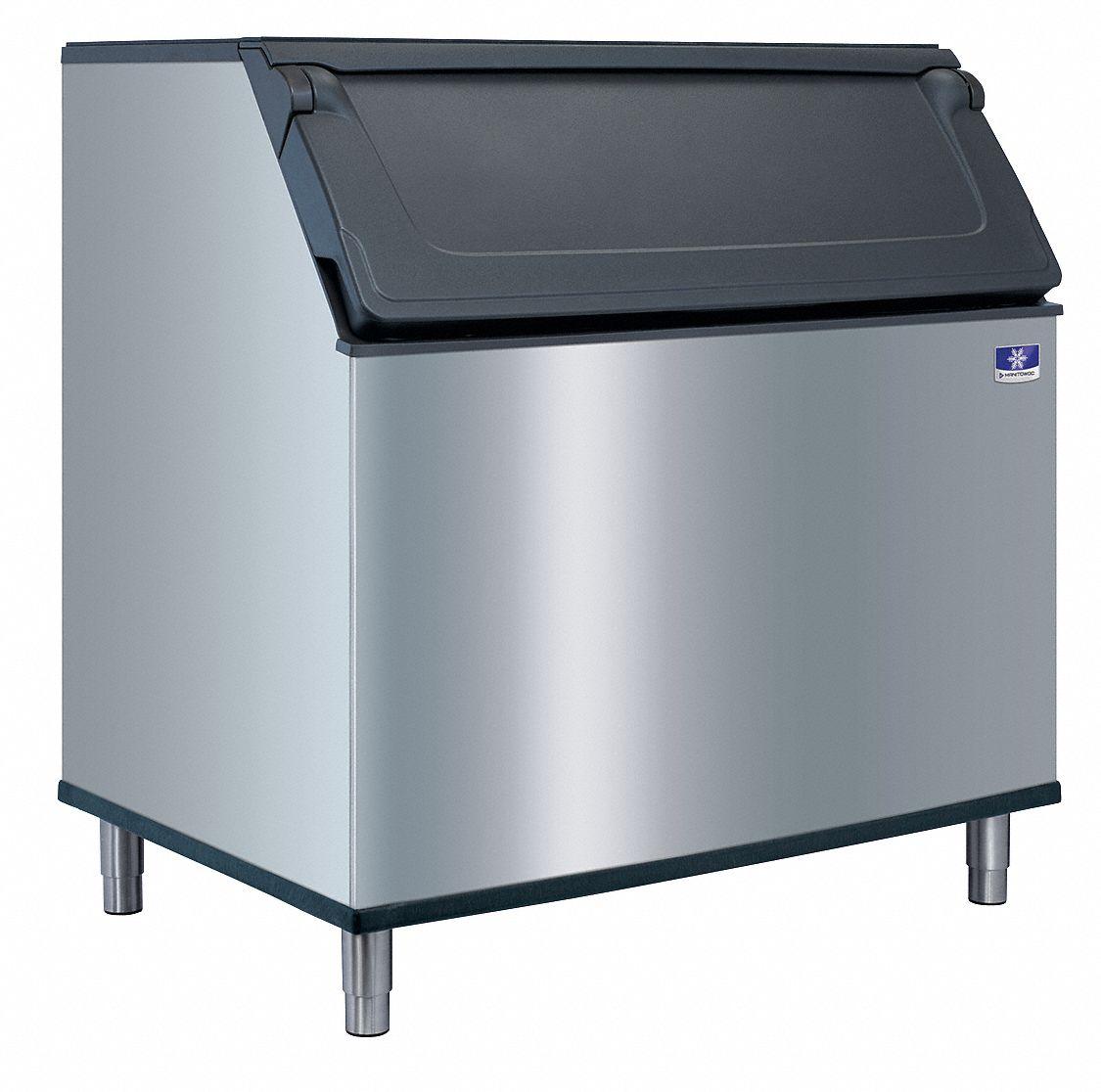 MANITOWOC Commercial Stationary Ice Storage Bin, 882 lb. Storage ...